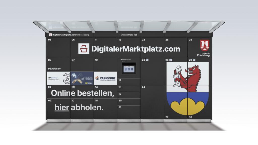 Bald Einkauf per Schließfach in Linz möglich - DigitalerMarktplatz